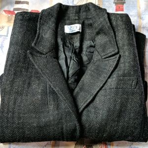 Loft blazer jacket plaid pattern wool blend